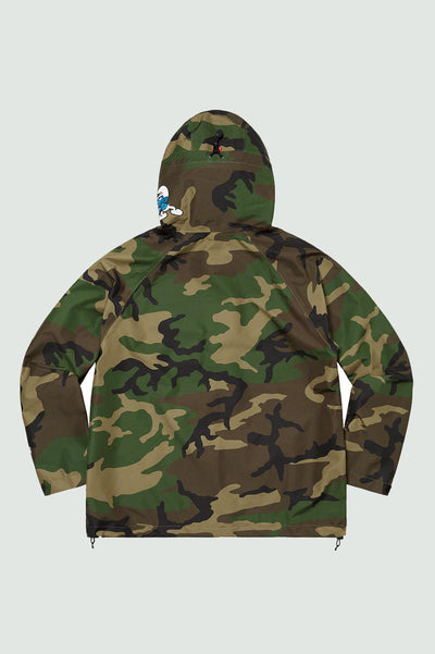 SUPREME Smurfs GORE-TEX Shell Jacket