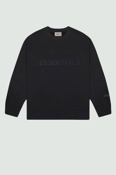 FEAR OF GOD ESSENTIALS 3D Silicon Applique Crewneck