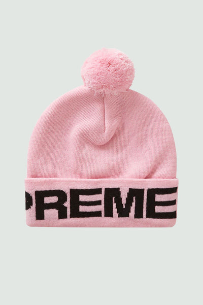 Supreme Love Supreme Beanie Light Pink