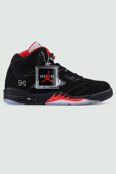 "Supreme X Air Jordan 5 Retro ""Black"""
