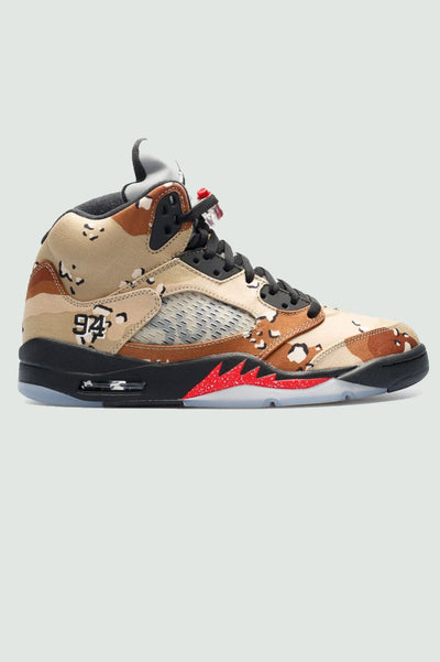 "Supreme X Air Jordan 5 Retro ""Camo"""