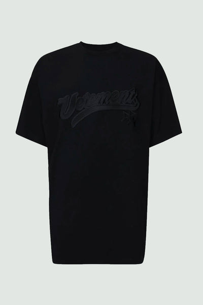 VETEMENTS Hip Hop T-Shirt Embroidery