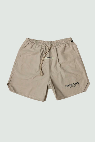 Fear of God Essentials Nylon Active Shorts Tan