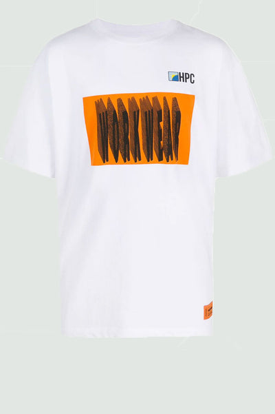 Heron Preston oversized graphic T-shirt