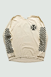 RHUDE - Classic Checkers L/S Tee