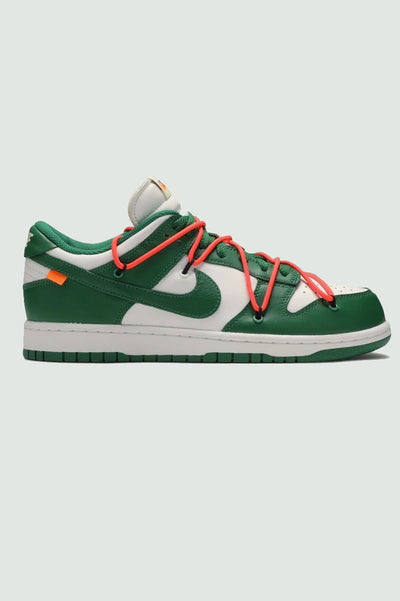"Nike x Off-White Dunk Low Leather ""Pine Green"""