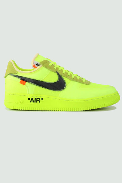 "Off-White Air Force 1 Low 2.0 ""Volt"""