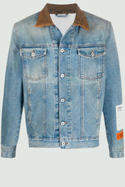 Heron Preston logo patch denim jacke