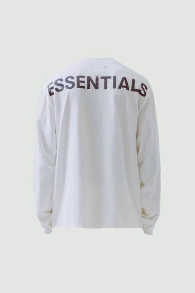 Fear of God Essentials 3M Logo Long Sleeve Boxy T-Shirt