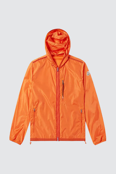 Prada Orange Nylon Windbreaker Jacket {New}