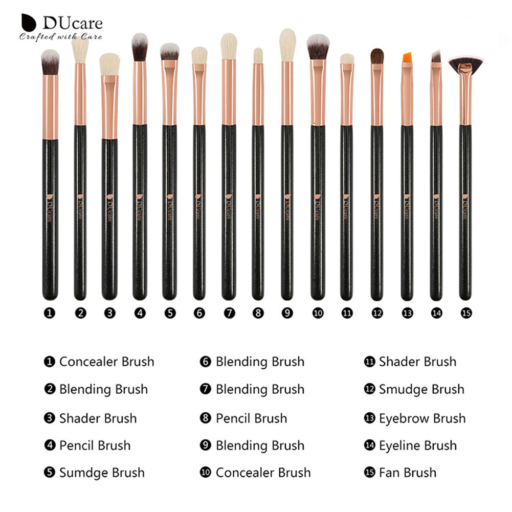 15in1 Blending / Concealer / Smudge / Eyeshadow Makeup Brushes Set