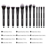 QUEEN - 27 in 1 Makeup Brushes Set