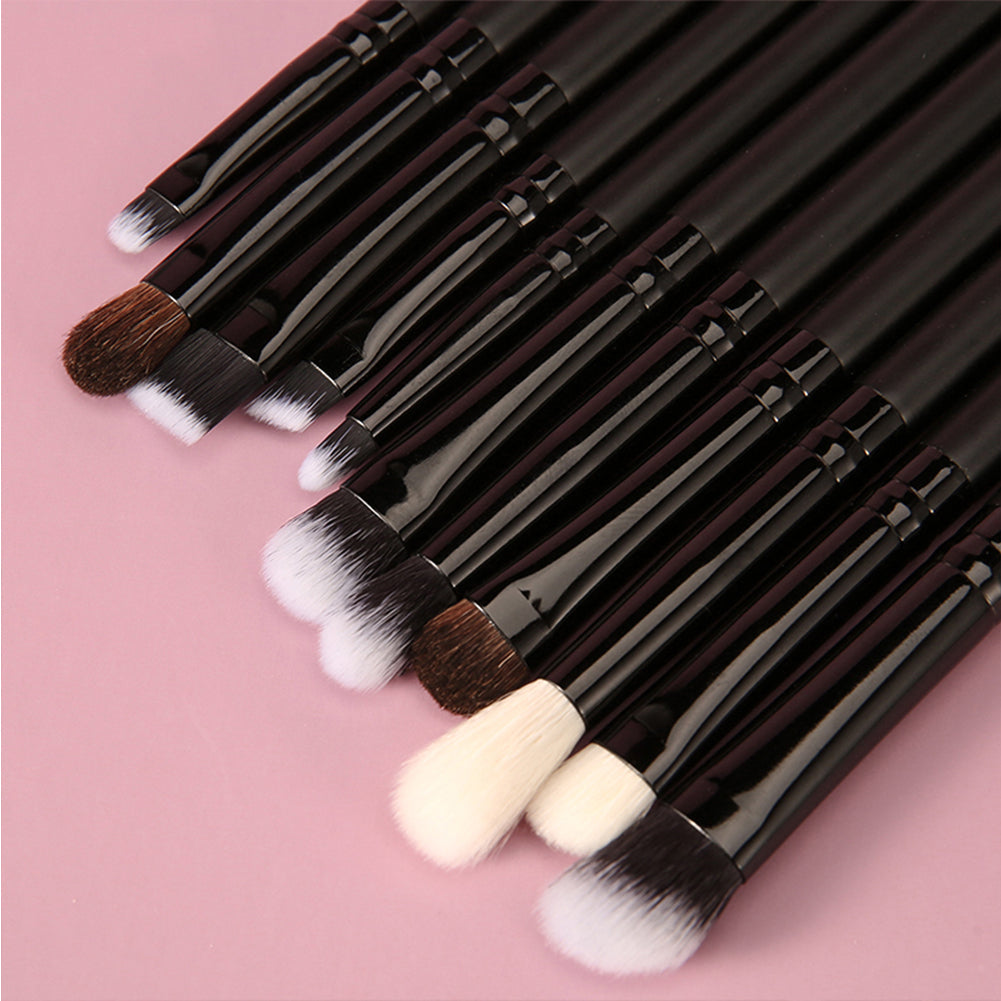 Classic Black - 15/20pcs DUcare Pro Makeup Brushes Set