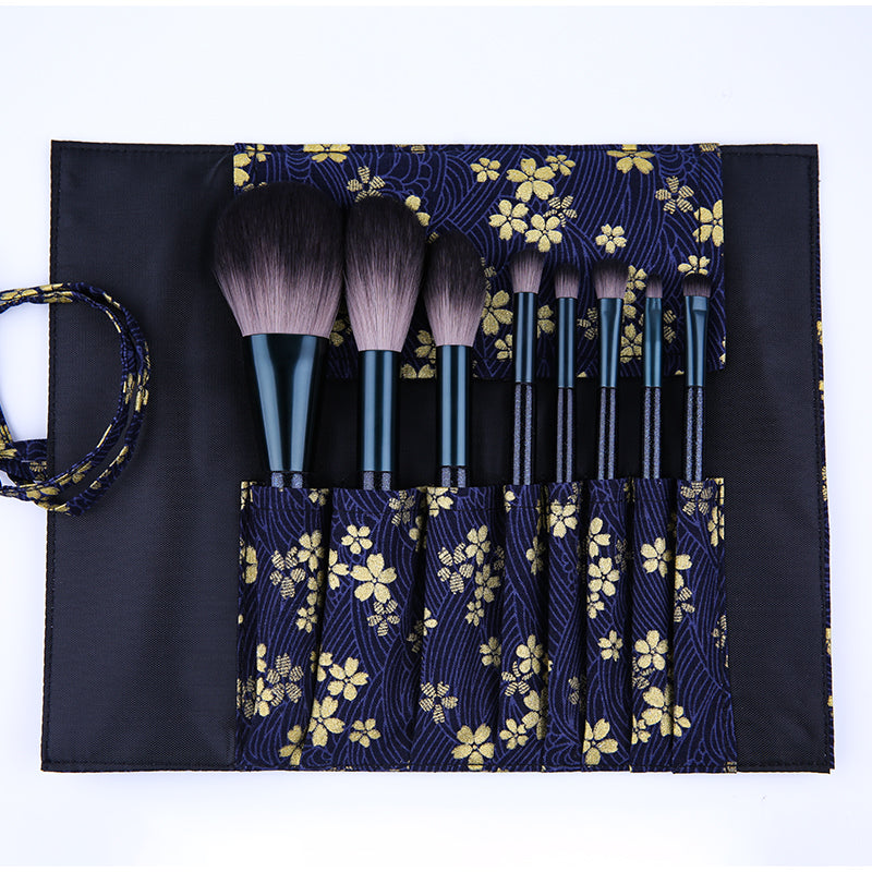 8in1 DUcare Powder / Highlight / Eyeshadow Brushes Set Basic Kit (Exclusive)