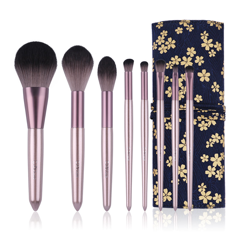 8in1 Powder / Highlight / Eyeshadow Brushes Set Basic Kit (Exclusive)
