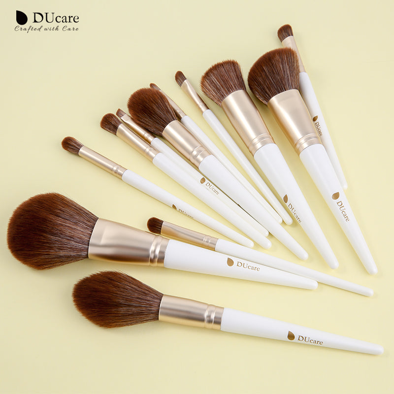 12in1 Face & Eye Makeup Brushes Set (Exclusive)
