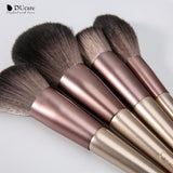 12in1 Powder / Foundation / Contour / Highlight / Blush / Eyeshadow / Concealer Makeup Brushes Set (Exclusive)
