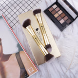 Afterglow Series 2in1 Dual End Makeup Brushes Set