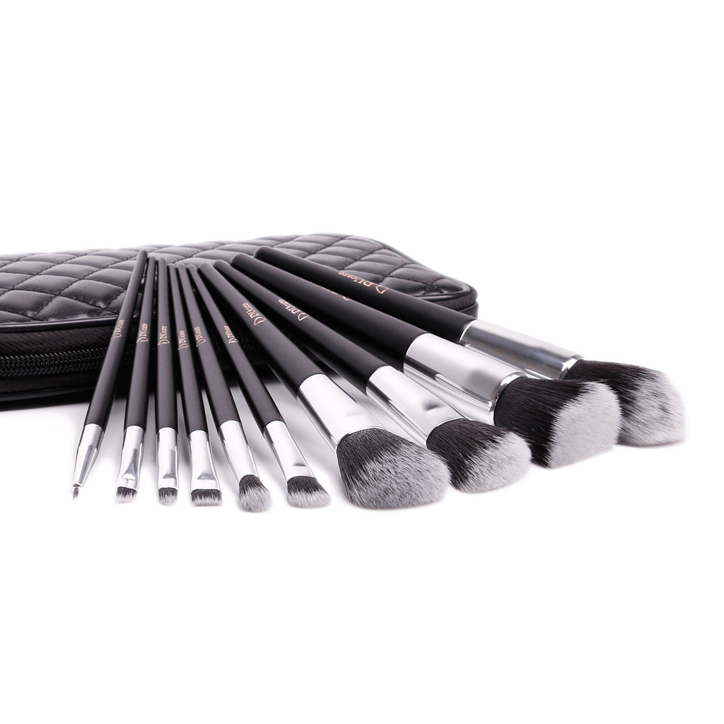 10 in 1 DUcare Brushes Set with Bag