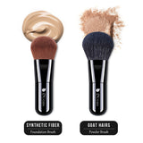 2in1 Foundation / Powder Brushes Set
