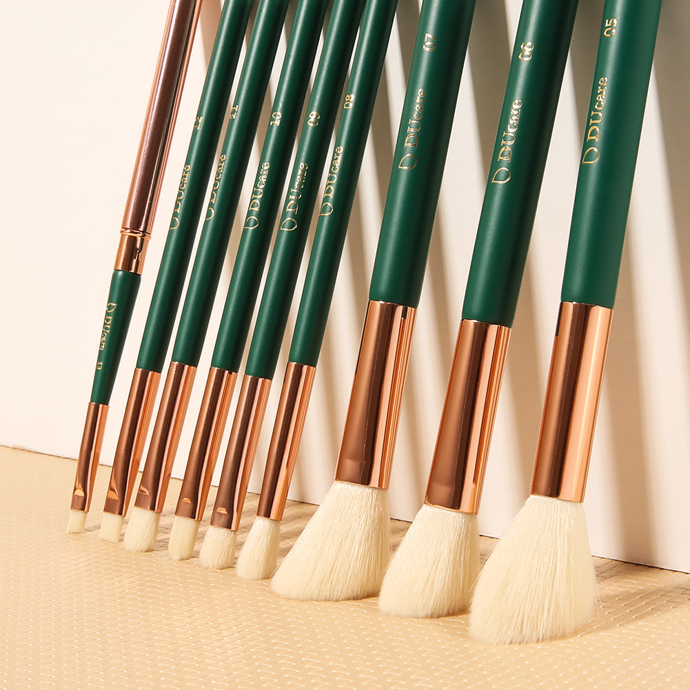 WONDERLAND - 13 in 1 DUcare Makeup Brushes Set