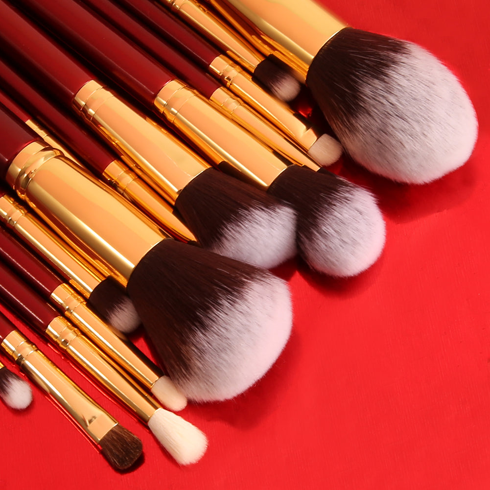 27in1 Powder / Contour / Foundation / Hightlight / Concealer / Eyeshadow / Blending / Eyebrow Processional Complete Makeup Brushes Set