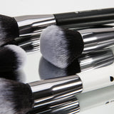 31in1 Powder / Buffer / Foundation / Contour / Concealer / Fan / Blush / Blending / Eyeshadow / Smudge Complete Makeup Brushes Set (Panda Kit)
