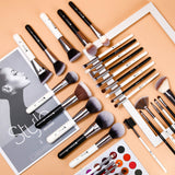 PANDA 31 - 31 in 1 Makeup Brushes Set