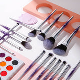 PROVANDA - 17 in 1 Makeup Brushes Set