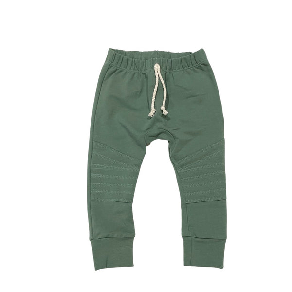 DUCK GREEN MOTO JOGGERS
