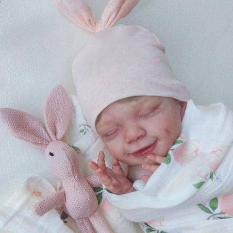 22'' Ashley Soft Reborn Baby Girl Doll - Realistic Toys Gift Lover