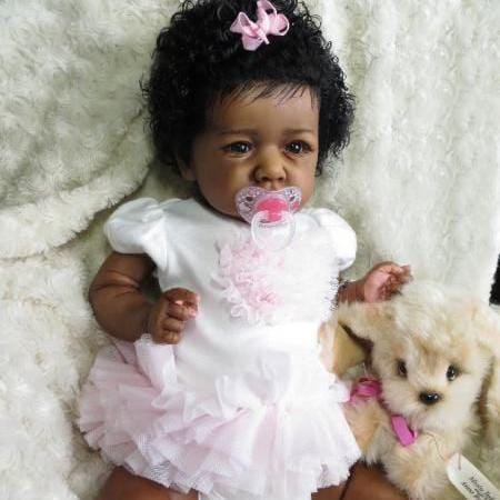 22'' Lovely Mariam Reborn Baby Doll Girl - Realistic Toys Gift Lover