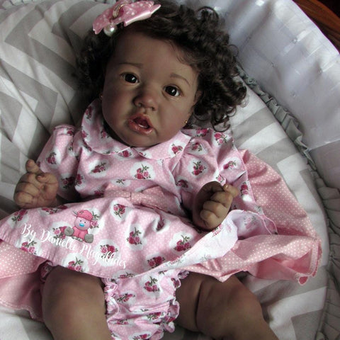 22'' Lovely Khaleesi Reborn Baby Doll Girl- Great for Birthday Present