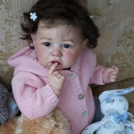 22'' Cute Sylvia Reborn Baby Doll - Great for Birthday Present