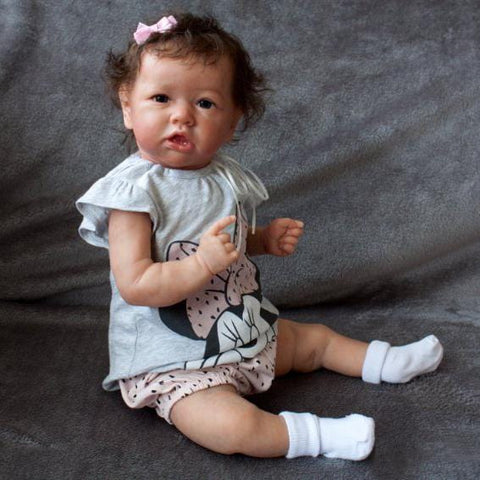 22'' Little Adelina Reborn Baby Doll Girl - Best Toy for Kid Gift