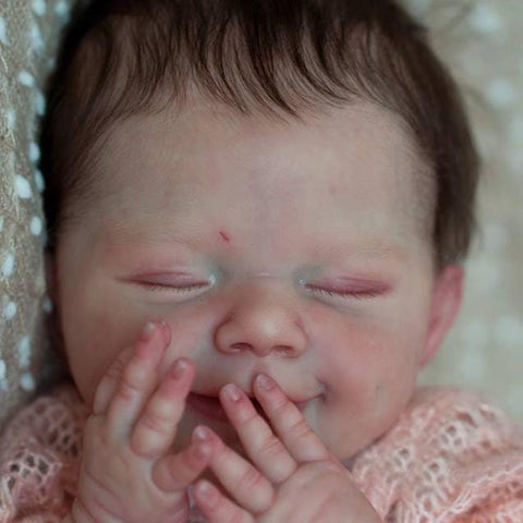 22'' Ryan Reborn Baby Doll-Sleeping With Sweet Dreams That Look Real