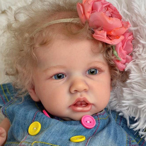 Lifelike 22'' Ailani Reborn Baby Doll Girl by Rebirthdoll® Exclusive