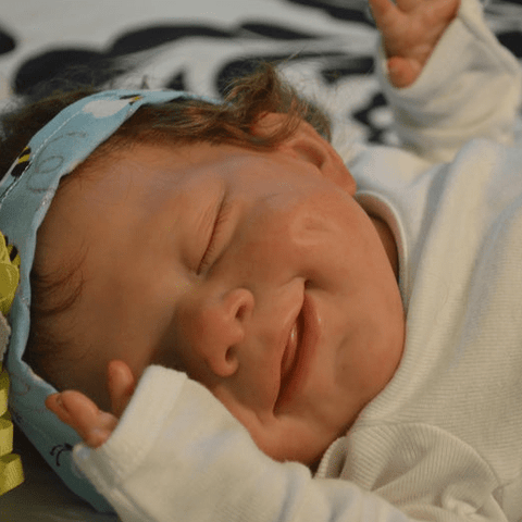 22'' Little Makayra Reborn Baby Doll