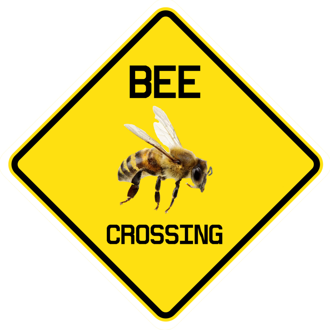 BEE Crossing Sticker