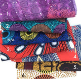 Not Today, Fear - Ankara Fabric Mask stack options by Tribal Marks