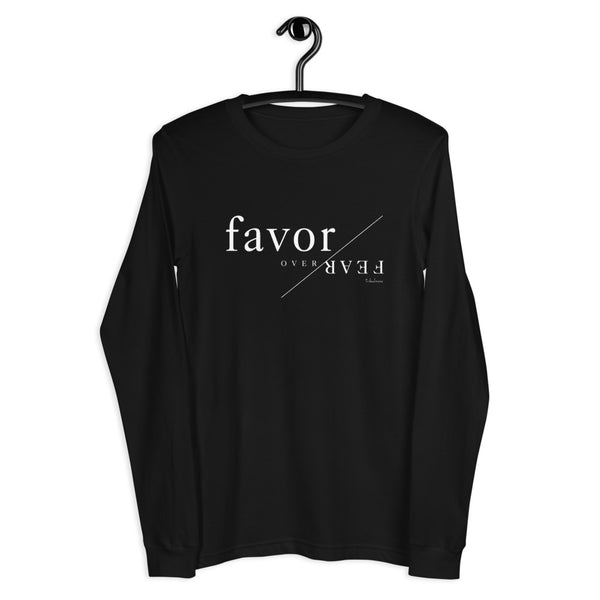 Favor Over Fear Long Sleeve Graphic Tee