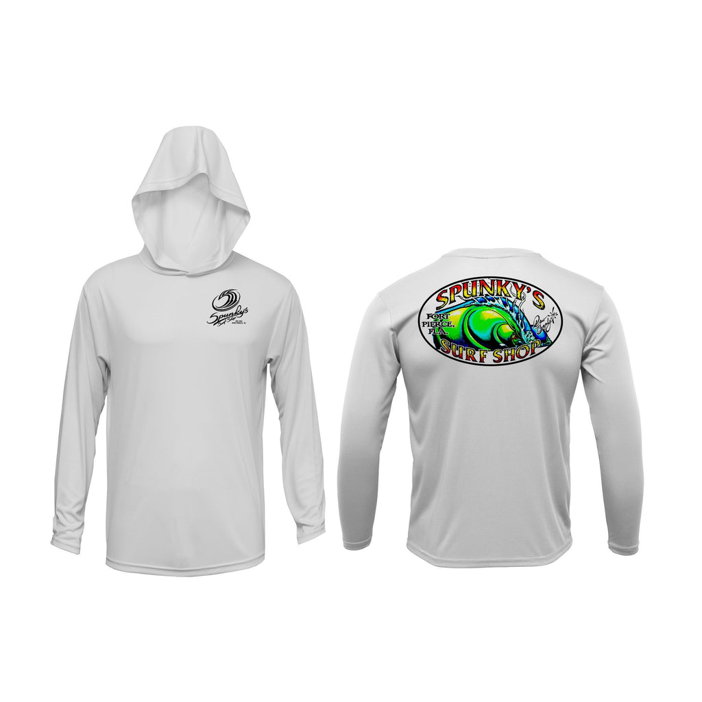Spunky's - Performance Hoodie - The Wave