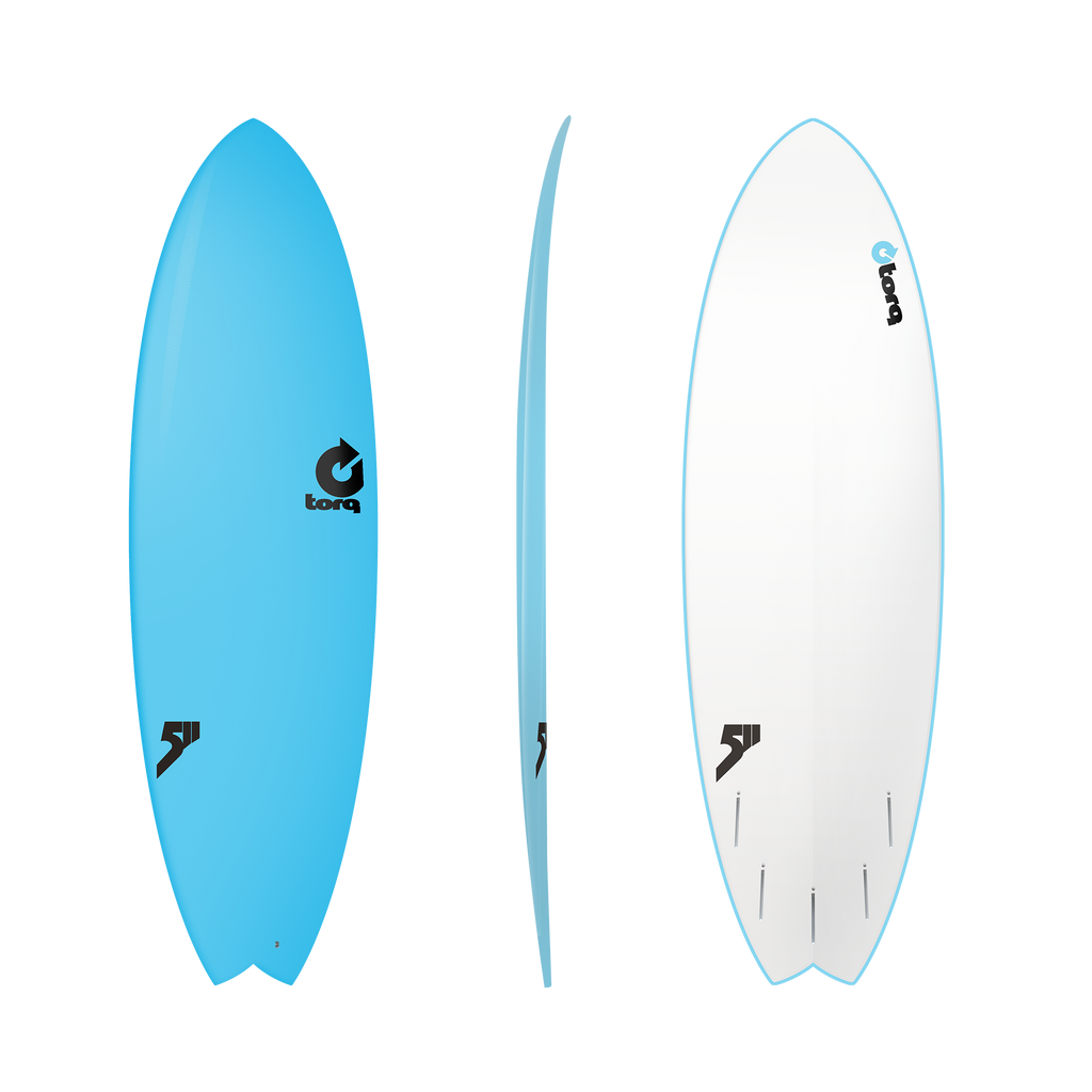 Torq - Mod Fish Soft Deck - Surfboard