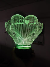Load image into Gallery viewer, Couple Name Lamp - Make My Thingz