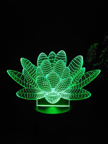 Lotus 3D Lamp - Make My Thingz