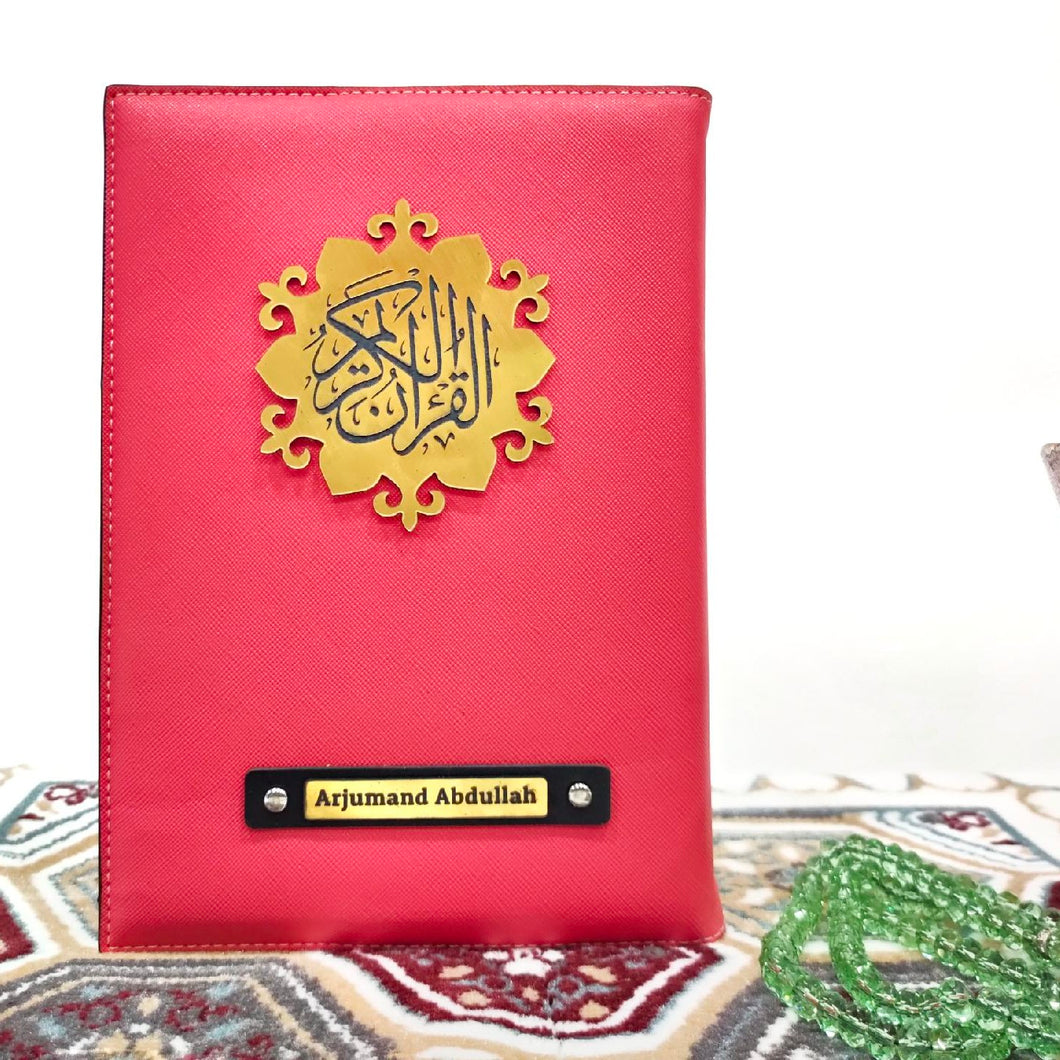 Pink Quran Cover - Make My Thingz