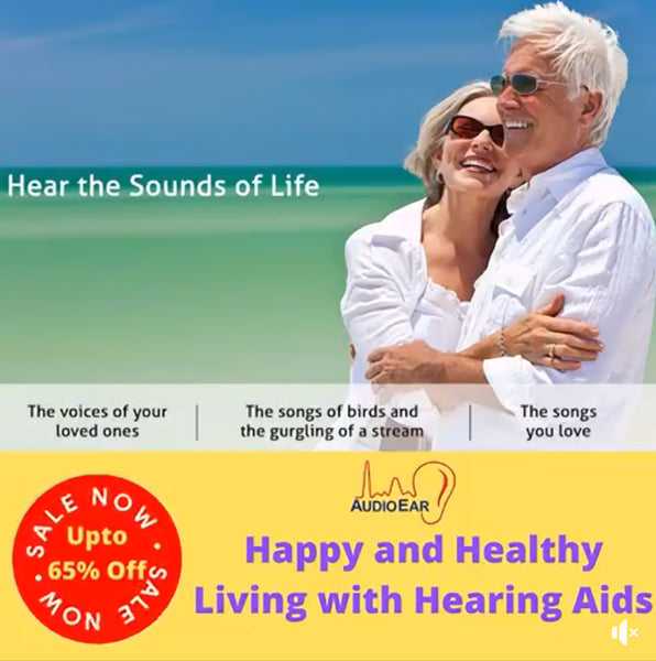 Happy And Healthy Living With Audioear Hearing Aids Device!