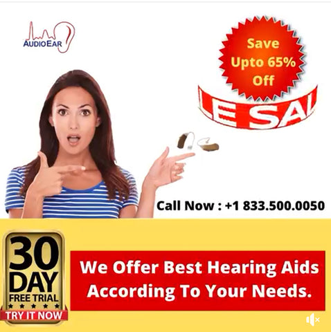 We Offer Best Hearing Aids According To Your Needs!