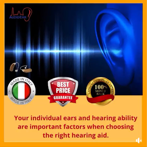 AudioEar Hearing Aids Without Hassle