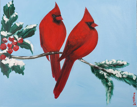 Two More Cardinals